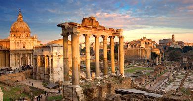 จัตุรัสโรมันในอิตาลี